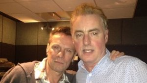 Larry Mullen Jr. at 2FM