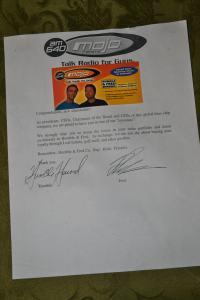 H&F Mojo Share Letter