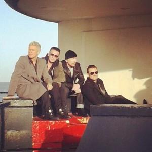 U2 Bray Cover Shoot
